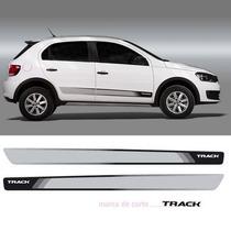 Faixa Decorativa Gol Track 2012 2013 G6 Preto 3m 1 Ano Garan