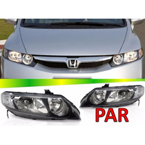 Par Farol Honda New Civic 2007 2008 2009 2010 2011 Novo