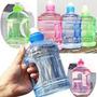 Bidón De Agua Potable Portátil 2 Litros Botella, Libre Bpa