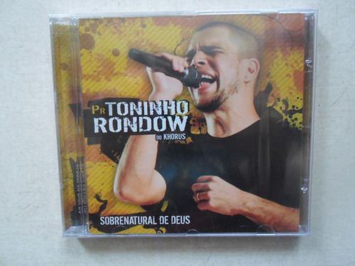 cd toninho rondow