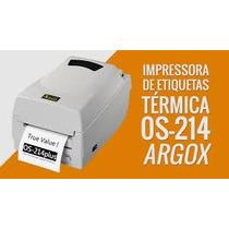 Impressora Termica Argox Os 214 Plus De Codigo De Barras