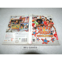 Ready 2 Rumble Revolution Original Europeu Pal Completo Wii