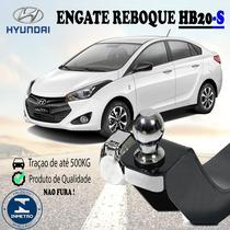 Engatede Reboque Fixo Sedan Hb-20s Até 2016 Até 500kg