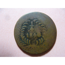 Antigua Moneda D 1/4 De R. Año 1846. Chihuahua. Escasa.