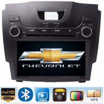 Chevrolet S10 Colorado Autoestereo Dvd Gps Usb Touch Bt Sd