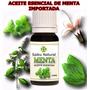 Aceite Esencial De Menta Pura Importada Envase De 15 Ml