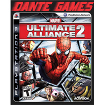 Marvel Ultimate Aliance 2 Ps3 Jogo Raríssimo