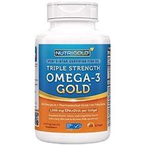 Omega-3 De Aceite De Pescado - Nutrigold Triple Fuerza Omega