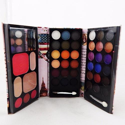 Paleta Maquillaje 3 Hojas Sombras Colores Primavera Verano - $ 269 ...