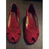 Zapatos Niña Lucchi Tacón Plataforma De Vestir Talla 10