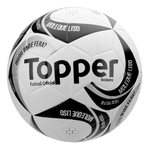8f065387a2 Bola Topper Boleiro Futsal Cod  16037 - R  59
