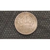 Moeda Suécia Prata 10 Ore 1949