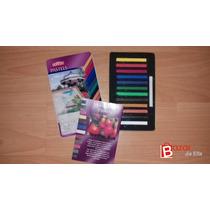 Estuche Barras Derwent Pastel Con 12 Colores -efa-