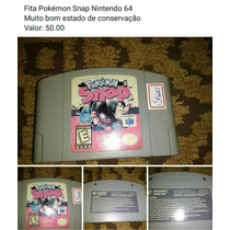 Fita Pokémon Snap Nintendo 64