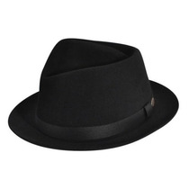 Gorra Bailey De Hollywood Hombres Hoxton Fedora Hat Negro,