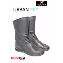 Botas Solco Urban Con Protecciones Alto Impacto Motoscba