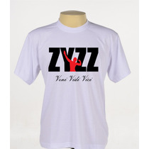 Camisa Camiseta Personalizada Zyzz Academia Manga Curta