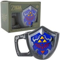 Taza De Zelda Oficial Nintendo Escudo Link Ceramica Original