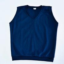 Uniformes Escolares Pullover Azul, Ideal Para El Liceo, Ince
