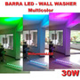 Lámpara Barra Led Multicolor 30w Iluminar Fachadas Wall Wash