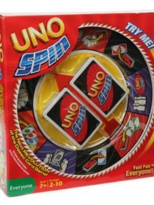 Juego De Mesa Uno Spin Nuevo Bs 35 80 En Mercado Libre