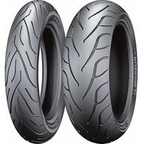 Jogo Pneu Moto Michelin 140/75 R17+200/55 R17 Commander Ii