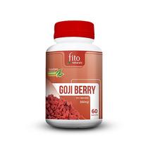 Goji Berry Original 100% Pura E Natural 60 Cápsulas 500mg