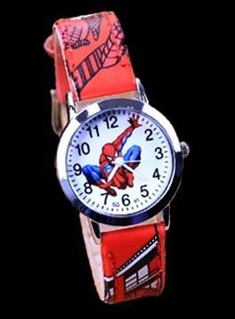 209e89e9414 Relógio Homem Aranha Rg010c Pulseira Vermelho Promoção!!! - R  27