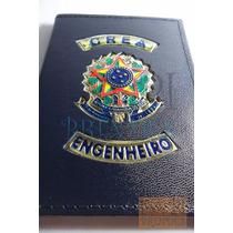 A Única Em Couro Legítimo Crea Engenheiro Civil Engenharia