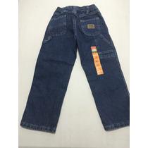 Blue Jeans Para Niño Marca Wrangler Talla 5t
