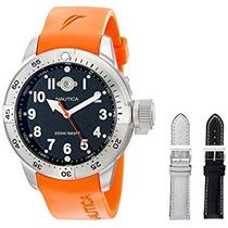 Steel Diver Reloj N Bfc Inoxidable De Los Hombres Nautica