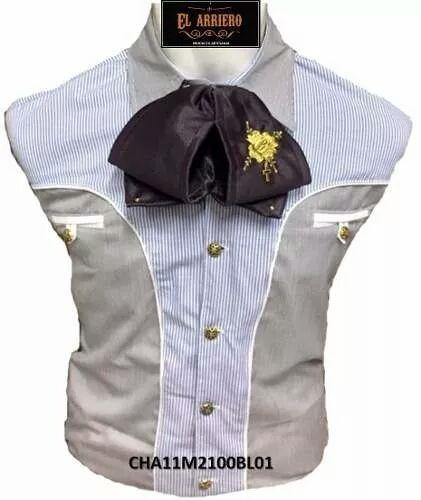 13b143a481 Camisa Pachuqueña   Charra Corte Fino Sastre -   649.00 en Mercado Libre