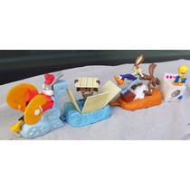 Lote De 4 Muñecos Looney Tunes Mc Donalds Warner 1995