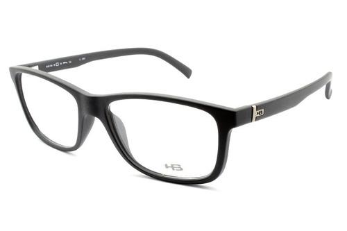 Armação Para Óculos De Grau Hb Polytech Matte Black 93104 - R  269,90 em  Mercado Livre af5f936f5f