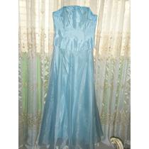 Bello Vestido De 3 Piezas,15 Años,fiesta Azul Turquesa Claro