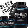 Kit Combo Atlhetica-whey Protein+bcaa+creatina Black Friday