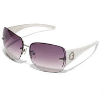Lentes Guess Rimless Shield Sunglasses+ Case Guess Gratis
