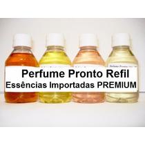 Perfume Pronto 1 Litro Concentrado 25% Essências Imp Premium