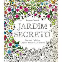 Livro Para Colorir - Jardim Secreto
