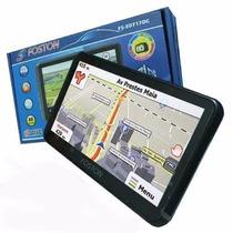 Gps Automotivo Foston Fs 3d717 Tela 7 Cam Ré Tv Bluetooth