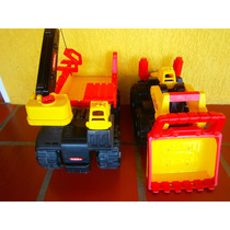Carros Metalicos Tonka Camion Y Tractor