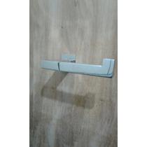 2 Porta Papel Parede 3 Porta Toalha Cabide Simples Aço Inox