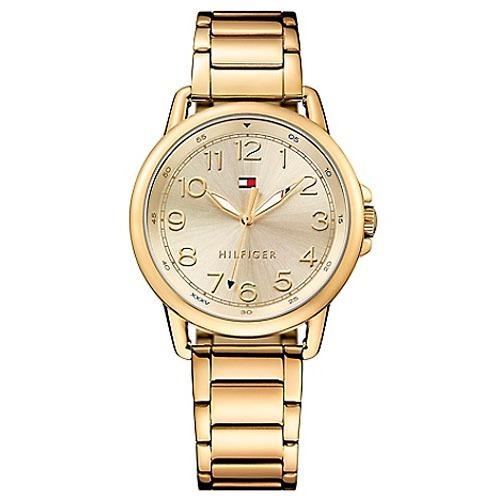 7ac73132fa5 Relógio Tommy Hilfiger Feminino Aço Dourado 1781656 Original - R  519