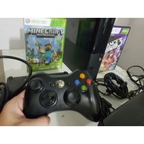 Xbox 360 + Kinect + 30 Jogos Na Memória 250 Gb 12x/s Juros