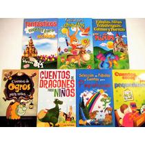 Paquete Cuentos Y Fábulas Para Pequeñines 7 Libros Liquidaci