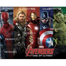 Avengers Capitan America,iron Man,spiderman,thor,hulk Hasbro