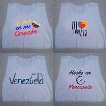 Crop Top Blusas Dama Venezuela
