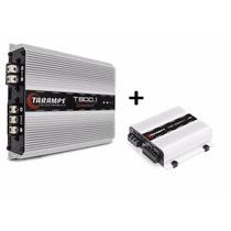 Modulo Amplificador Taramps T800.1+ Ts400x4 400w Rms Som