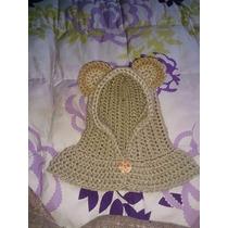 Hermoso Gorrito De Crochet