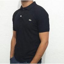 Camisa Gola Polo (camiseta) Kit C/3 Lacoste Sem Juros